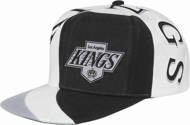 Los Angeles Kings Mitchell & Ness The Swirl Retro Vintage Snap Back Hat