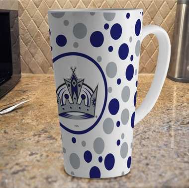 Los Angeles Kings Polkadot 16 oz. Ceramic Latte Mug
