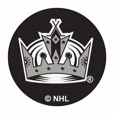 Los Angeles Kings Puck Shaped Rug