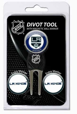 Los Angeles Kings Repair Tool and Ball Marker Gift Set
