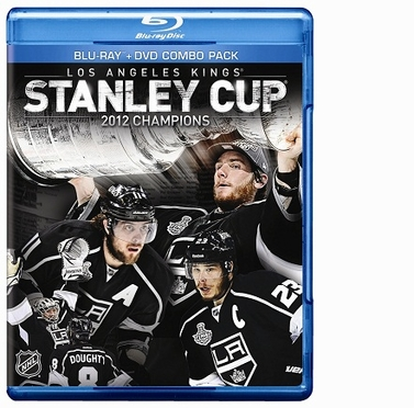 Los Angeles Kings Stanley Cup Champs BluRay DVD