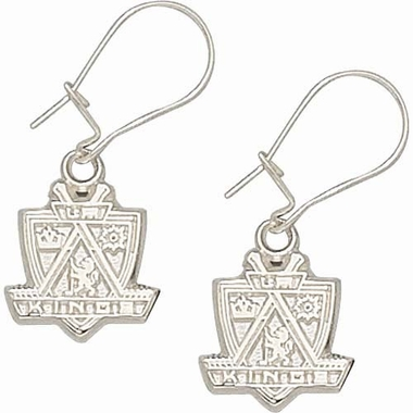 Los Angeles Kings Sterling Silver Post or Dangle Earrings