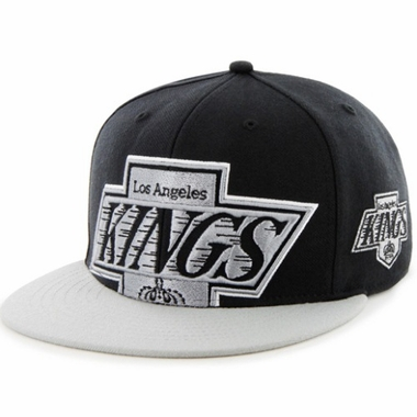 Los Angeles Kings Two Tone Colossal Snap Back Hat