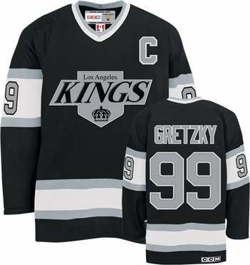 Los Angeles Kings Wayne Gretzky CCM Team Color Premier Jersey