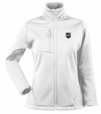 Los Angeles Kings Womens Traverse Jacket (Color: White)