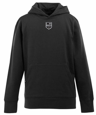 Los Angeles Kings YOUTH Boys Signature Hooded Sweatshirt (Team Color: Black)