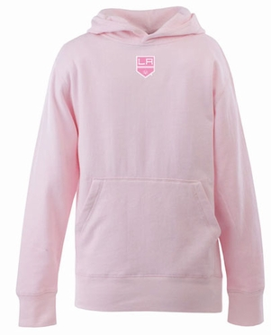Los Angeles Kings YOUTH Girls Signature Hooded Sweatshirt (Color: Pink)