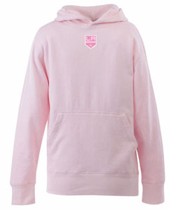 Los Angeles Kings YOUTH Girls Signature Hooded Sweatshirt (Color: Pink) - Medium