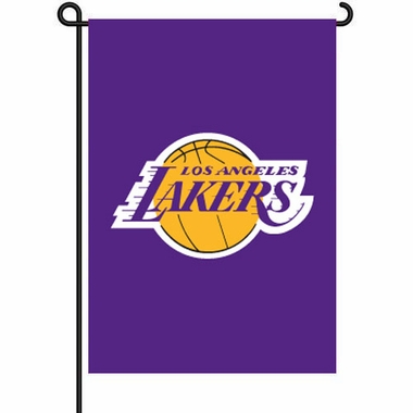Los Angeles Lakers 11x15 Garden Flag