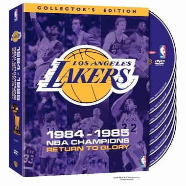 Los Angeles Lakers 1985 Champs DVD: Return to Glory