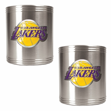 Los Angeles Lakers 2 Can Holder Set