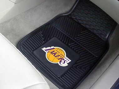 Los Angeles Lakers 2 Piece Heavy Duty Vinyl Car Mats