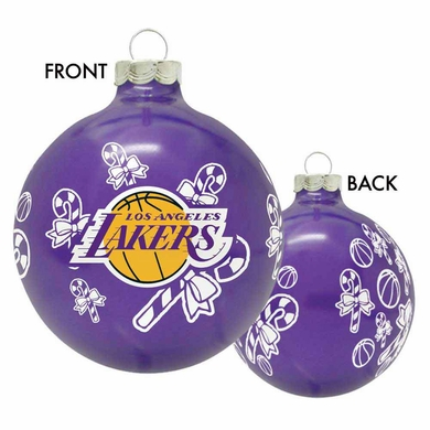 Los Angeles Lakers 2010 Traditional Ornament