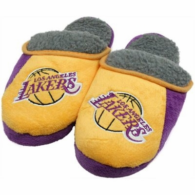 Los Angeles Lakers 2012 Sherpa Slide Slippers