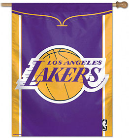 "Los Angeles Lakers 27""x37"" Banner"