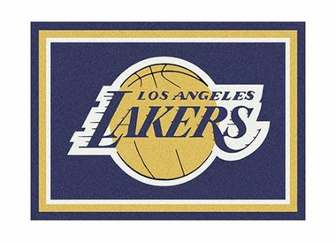 "Los Angeles Lakers 3'10"" x 5'4"" Premium Spirit Rug"