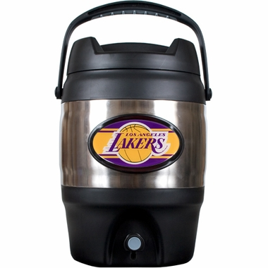 Los Angeles Lakers 3 Gallon Stainless Steel Jug