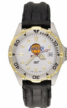Los Angeles Lakers All Star Mens (Leather Band) Watch