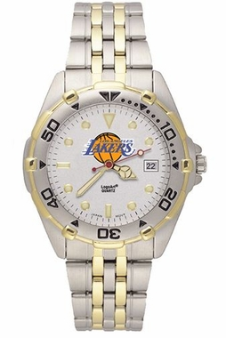 Los Angeles Lakers All Star Mens (Steel Band) Watch