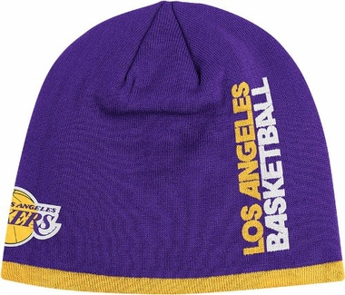 Los Angeles Lakers Authentic Team Cuffless Knit Hat