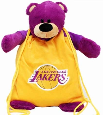 Los Angeles Lakers Backpack Pal