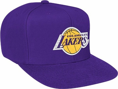 Los Angeles Lakers Basic Logo Snap Back Hat
