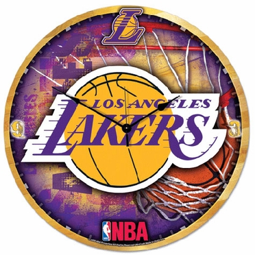 Los Angeles Lakers Big 18 Inch Hi Definition Clock