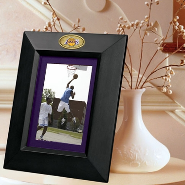 Los Angeles Lakers BLACK Portrait Picture Frame