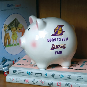 Los Angeles Lakers (Born to Be) Piggy Bank