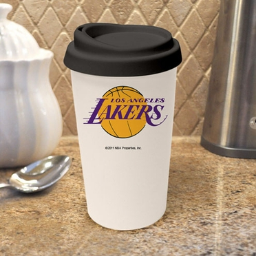 Los Angeles Lakers Ceramic Travel Cup