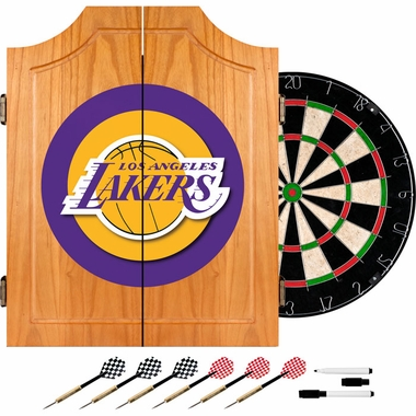 Los Angeles Lakers Complete Dart Cabinet