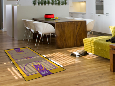 Los Angeles Lakers Court Runner Rug