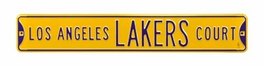 Los Angeles Lakers Ct Street Sign