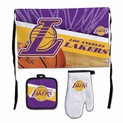 Los Angeles Lakers Deluxe BBQ Grilling Set