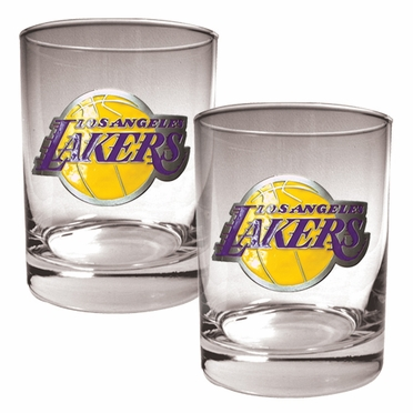 Los Angeles Lakers Double Rocks Set