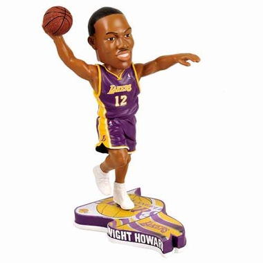 Los Angeles Lakers Dwight Howard 2013 Pennant Base Bobblehead Figurine