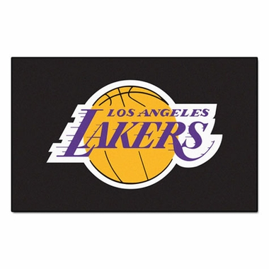 Los Angeles Lakers Economy 5 Foot x 8 Foot Mat