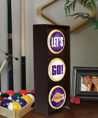 Los Angeles Lakers Flashing Stop Light