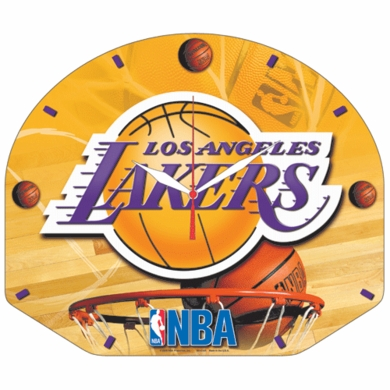 Los Angeles Lakers High Definition Wall Clock
