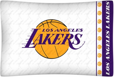Los Angeles Lakers Individual Pillowcase