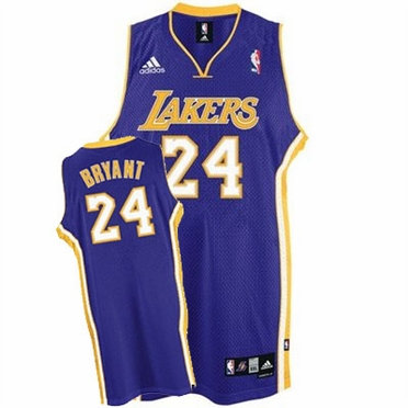 Los Angeles Lakers Kobe Bryant Alternate Swingman Replica Jersey