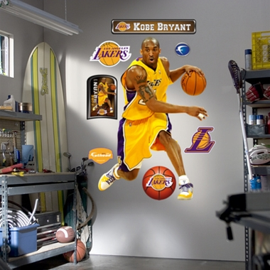 Los Angeles Lakers Kobe Bryant Fathead Wall Graphic