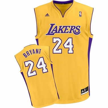 Los Angeles Lakers Kobe Bryant YOUTH Swingman Jersey