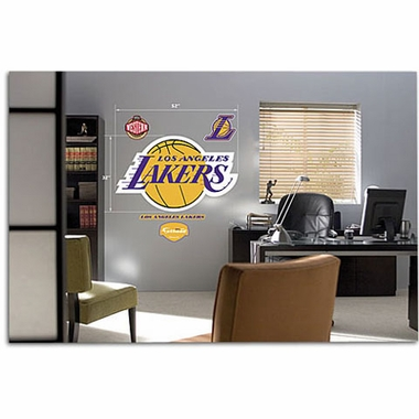 Los Angeles Lakers Logo Fathead Wall Graphic