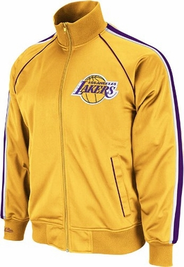 Los Angeles Lakers Mitchell & Ness Final Score Track Jacket