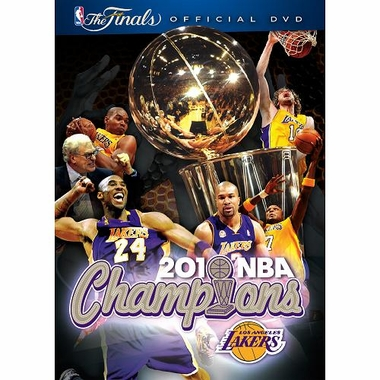 Los Angeles Lakers NBA Finals Champs DVD
