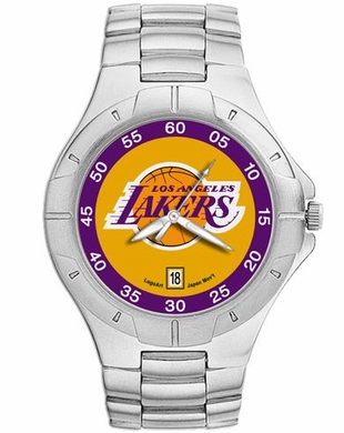 Los Angeles Lakers Pro II Men's Stainless Steel Watch