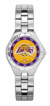 Los Angeles Lakers Pro II Women's Stainless Steel Watch