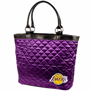 Los Angeles Lakers Quilted Tote