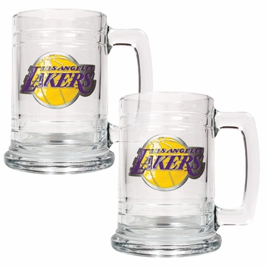 Los Angeles Lakers Set of 2 15 oz. Tankards